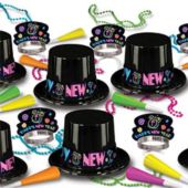 Neon New Year's Kit for 50