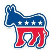 Democratic Donkey Cutout
