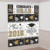 2016 Congrats Grad Wall Decorating Kit