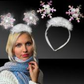 Snowflake Light Up L.E.D. Headboppers