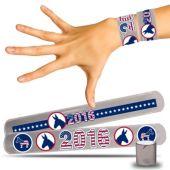 Democratic Slap Bracelets - 12 Pack