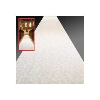 White Aisle  Floor Runner