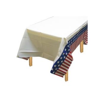 AMERICANA   PLASTIC TABLE COVER