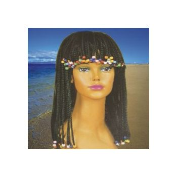 Braided and Beaded Wig