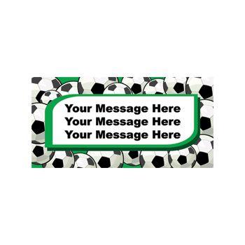 Soccer Theme Custom Banner