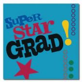 Graduation Super Star Luncheon Napkins