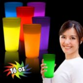 Glow 16 Oz. Glass Available In 7 Colors