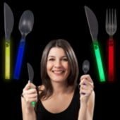 Glow Knives, Forks, And Spoons - 12 Piece Set