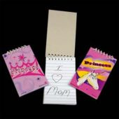 "Princess 3 3/4"" Note Pads - 12 Pack"