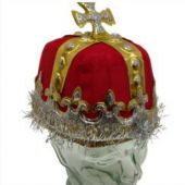 Red Royal King Cardboard Crown