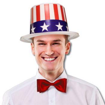 PATRIOTIC TOP HATS