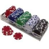 Deluxe 115 Grams Poker Chip Set