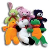 "Plush Animal Assortment-8""-12 Pack"