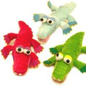 "Plush Crocodiles-12"" - 12 Pack"