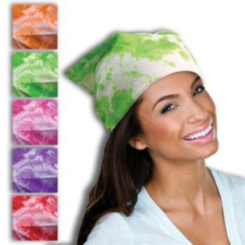Tie Dye Bandanas - 19 Inch, 12 Pack