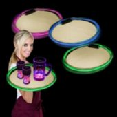 Green LED Serving Tray - 14 Inch