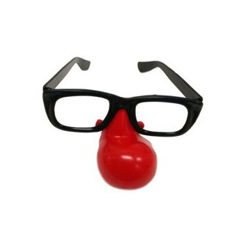 CLOWN NOSE EYEGLASSES