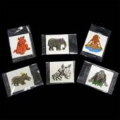 "1 1/2"" Wild Animal Tattoos - 144 Pack"