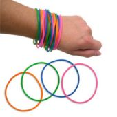 Neon Jelly Bracelets - 144 Pack