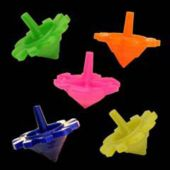 Neon Spinning Tops-48 Pack