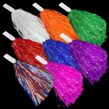 16 Inch Pom Poms in Assorted Colors