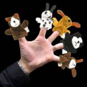 Dog Finger Puppets - 12 Pack