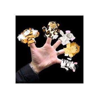 Wild Animal   Plush Finger Puppets