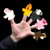 Farm Animal Finger Puppets - 12 Pack