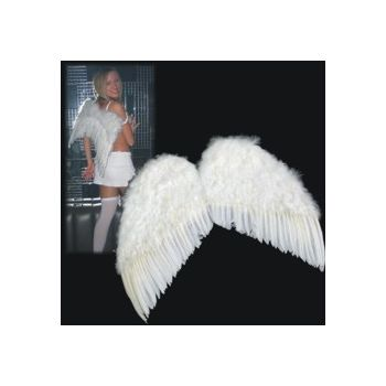 "FEATHER ANGEL WINGS   ADULT SIZE - 24"" x 22"""
