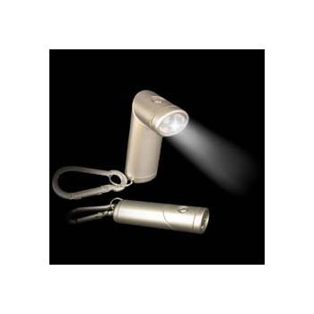 No Refunds ROTATING ANGLE HEAD FLASHLIGHT KEYCHAIN