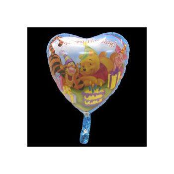 Winnie the Pooh Birthday Balloon - 18 Inch