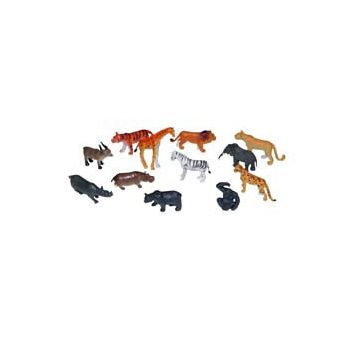 "2 12"" WILD ANIMALS (Assorted)"