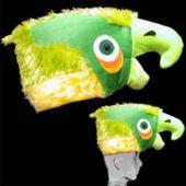 Green Parrot Hats