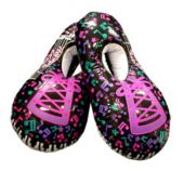 Inflatable Music Note Shoes - 22 Inch, 12 Pack