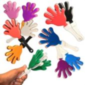 "7"" Hand Clappers - Choose Your Color"