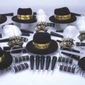 Golden Midnight New Years Party Kit For 50