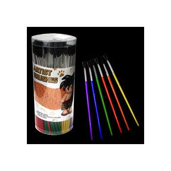 "7"" PAINT BRUSH SET (TUB OF 144 PIECES IN ASSORTED SIZES)"