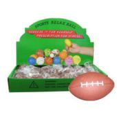 "Football Shaped 2 1/2"" Stress Balls"