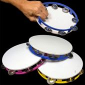 "Party Tambourines-8""-12 Pack"