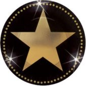 "Star Attraction Paper Plates-7"" - 8 Pack"