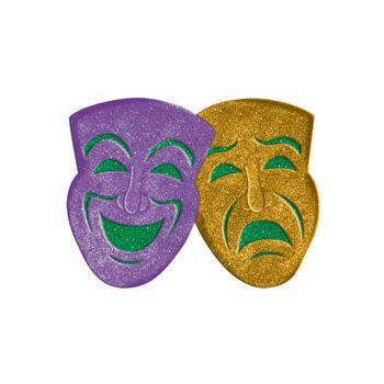 Mardi Gras  Glitter Mask
