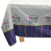Mardi Gras Bead Table Cover