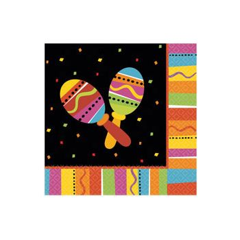 FIESTA PARTY  LUNCHEON NAPKINS
