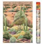 40 Foot Desert Flora Scene Setter Roll