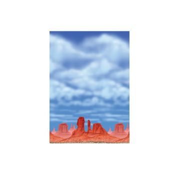 RED ROCK & BIG SKY   40' SCENE SETTER