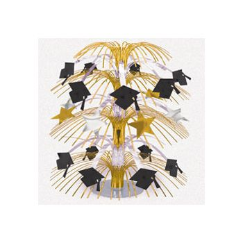 "GOLDEN GRAD   18"" CENTERPIECE"