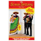 65 Inch Dancers Mariachi Players Scene Setter Add Ons