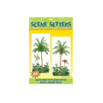 TROPICAL PALM TREES   SCENE SETTER ADD-ONS