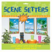 Tropical Windows Scene Setter Add Ons