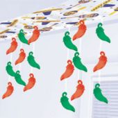 CHILI PEPPER 12' CEILING DECORATION